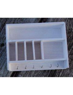 Dollhouse miniature plate rack shabby chic. $16.00, via Etsy.