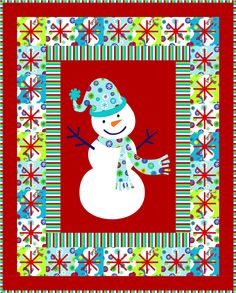 """Call Me Frosty. Featuring """"Snow Day"""" from a Shannon Studio Collection™ http://www.shannonfabrics.com/shannon-studio-cuddle-collection-snow-day-c-856_946.html and Cuddle 3 from Kozy Cuddle Solids  http://www.shannonfabrics.com/img-border0-srcicons8x8pngnbspkozy-cuddle-collection-c-915.html -   Download: http://shannonfabrics.com/download_patterns/CallMeFrostyPattern.pdf - Follow our Pinterest page for more ideas http://www.pinterest.com/shannonfabrics/"""