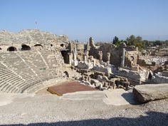 C Amphitheater in Turkey is still in use today 603353 Side Turkey, Turkey Travel, Computer Wallpaper, Ancient History, Explore, Google Search, Places, Image, Lugares
