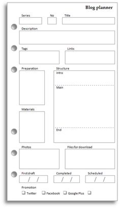 My Life All in One Place: Blog planner Printing this ASAP!