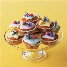 Lemon and rosemary cakes recipe