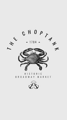 The Choptank | Seafood Restaurant Branding and Identity Concept | by Lindsey Created