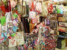 台北「永楽市場」内「右翔進口傢飾布」花布ランチョンマットがかわいい!ポーチも豊富♡日本人御用達の布屋さん   LOVE! TRAVEL Taiwan, Asia