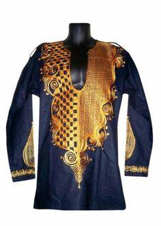 Beira - Embroidered Men's Kaftan Shirt