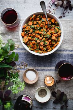 These healthy Moroccan Carrots are a favorite flavorful side dish. They are loaded with garlic, vinegar and spice! Naturally gluten free and paleo! Vegetarian Main Dishes, Vegan Vegetarian, Paleo, Barbecues, Potlucks, Food Dishes, Side Dishes, Moroccan Carrots, Make Ahead Salads