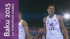 Men's Gold Medal Match | Beach Volleyball | Baku 2015 European Games