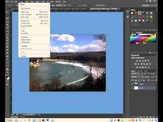▶ How to Increase Canvas Size in Photoshop CS6 - YouTube