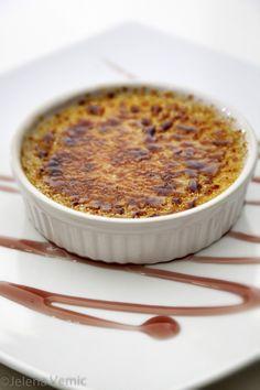 κρέμα καραμελέ / Crème brûlée