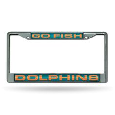 Item specifics     Condition:        New: A brand-new, unused, unopened, undamaged item (including handmade items). See the seller's    ... - #Fishing https://lastreviews.net/sports-fitness/fishing/miami-dolphins-go-fish-nfl-chrome-metal-laser-cut-license-plate-frame/