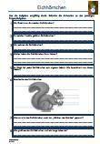 #Eichhoernchen #Schularbeit #Klassenarbeit #Lernzielkontrolle Unterrichtsmaterial für den #Biologieunterricht.  Verschiedene Fragen zu dem Thema: Eichhörnchen •Aussehen •Nahrung •Feinde •Eigenschaften •Körperteile •Nest •Überwinterung •Lebensweise •Feinde •Nachwuchs •Lebensraum •Winterruher •Überwinterung •Kobel •Fähigkeiten •Lückentext •45 Fragen •1 x Lernzielkontrolle •Ausführliche Lösungen •14 Seiten