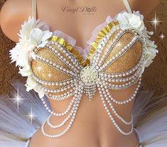 under wear – Gardening Tips Rave Costumes, Belly Dance Costumes, Gold Bra, Gold Tutu, Bling Bra, Mermaid Top, Mermaid Suit, Mermaid Cosplay, Diy Bra