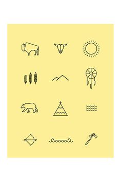 Project centred around Native American Indian Iconography. I created an icon set, publication, A2 screen printed poster, printed t-shirt and website. Some of the work was also featured in an Exhibition held in Gallery 3 and the end of October '13.