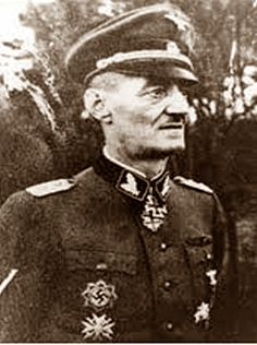 """Rare photo of SS-Oberführer Oskar Paul Dirlewanger,one of the most notorious murderers to wear the SS uniform. A psychopathic killer and child molester, founder and commanding officer of the notorious """"Dirlewnager Brigade,"""" manned by felons lifted out of prison,Dirlewanger associated himself with an unending stream of indescribable atrocities that moved even many senior SS commanders to demand his demotion and court martial.Postwar, Dirlewanger was taken POW and died  while in captivity in…"""