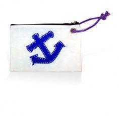 Sea Bags Anchor Wristlet - $26