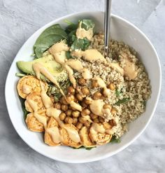 Beginner Buddha Bowl: Sweet Potato