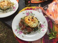 BOL RENVERSE Coq, Eggs, Breakfast, Chinese New Year, Chinese Food, Recipe, Egg, Morning Breakfast