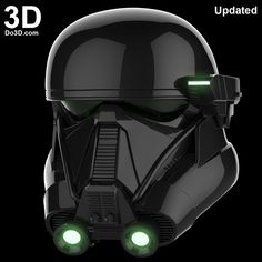 3D Printable Model: Death Trooper Helmet from Rogue One: A Star Wars Story | Print File Formats: STL OBJ – Do3D.com