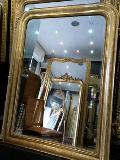 petit miroir ancien louis philippe dor objets design d co pinterest. Black Bedroom Furniture Sets. Home Design Ideas
