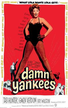 """""""Damn Yankees"""" [videorecording] / Warner Bros. Pictures presents ; a George Abbott/Stanley Donen production ; screenplay by George Abbott ; music and lyrics by Richard Adler and Jerry Ross ; produced and directed by George Abbott and Stanley Donen"""
