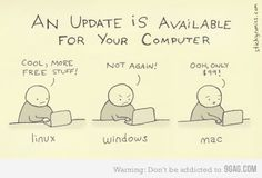 Linux, Windows, and Mac updates