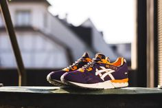 A recent spate of collaborative releases has raised the profile of the ASICS Gel-Lyte V, and this new stand-alone model should help further the cause. Factor no. 1 is the color scheme, showcasing complementary purple and orange hues with white leather side stripes and a lightly speckled … READ MORE