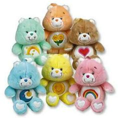 Remember the Care Bears? Remember the Care Bears? 1980s Childhood, My Childhood Memories, Sweet Memories, 90s Toys, Retro Toys, Vintage Toys 80s, 80s Girl Toys, Girls Toys, Toy History