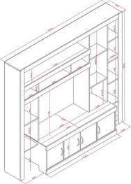 Risultati immagini per muebles para tv mdf PLANOS Dresser With Tv, Tv Furniture, Iron Table, Home Tv, Wall Storage, Tv Cabinets, Tv Unit, Diy Table, Autocad