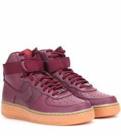 Nike Nike Air Force 1 Hi SE Leather High-Top Sneakers ( 140) ❤ 39e7e098efc6