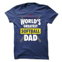 Worlds Greatest Softball Dad - skirt sayings. Worlds Greatest Softball Dad, white sweatshirt,burgundy sweater. Frog T Shirts, Dad To Be Shirts, T Shirts With Sayings, Look T Shirt, T Shirt And Jeans, Funny Shirts, Tee Shirts, Blank T Shirts, Sport T Shirt