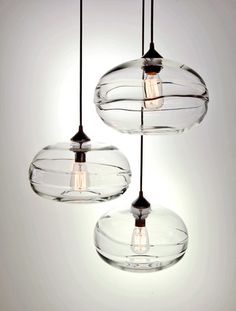 love these john pomp pendant lights - Glass Pendant Lighting