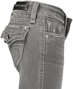 Rock Revival Grey Jeans