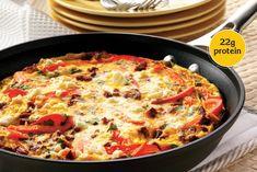 Chorizo & Pepper Frittata - Incredible Egg