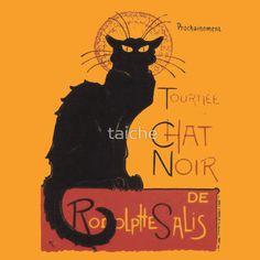 "Tournee Du Chat Noir - After Steinlein  ""Tournee Du #ChatNoir - After Steinlein"" Womens Fitted #T-Shirts by taiche | Redbubble http://www.redbubble.com/people/taiche/works/3956107-tournee-du-chat-noir-after-steinlein?asc=u"