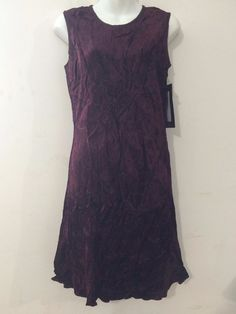 Xotica Women's Sleeveless Summer Rayon Dress Brownish Maroon  #Xotica #Sundress #Casual