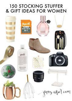 150 Christmas Gift and Stocking Stuffer Ideas for Women | jenny collier blog | Bloglovin