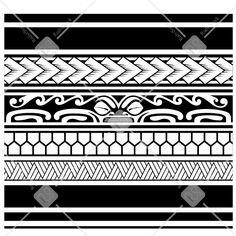 10 Amazing Samoan Tattoo Designs You Ideas Wrist Bracelet Tattoo, Tattoo Band, Filipino Tribal Tattoos, Samoan Tattoo, Maori Tattoos, Tatoos, Polynesian Tattoo Designs, Polynesian Art, Hawaii Tattoos