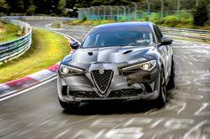 Alfa Romeo Stelvio Quadrifoglio, najszybszy SUV na świecie z rekordem okrążenia na torze Nürburgring | MOTO [PR] INFO