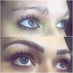 Hairstroke eyebrows by Meli | Permament makeup Gáspár Melinda ...