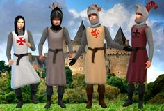 Medieval Warrior outfit at My Stuff via Sims 4 Updates