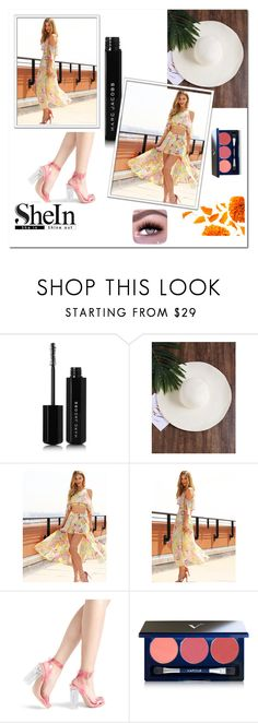 """Shein 10"" by ermina-camdzic ❤ liked on Polyvore featuring Marc Jacobs, Vapour Organic Beauty and shein"