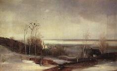 Early spring.Dali - (Aleksey Savrasov)