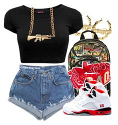 Untitled #1179 by lulu-foreva on Polyvore featuring polyvore, fashion, style and Funky Bling