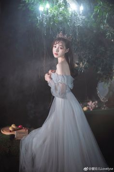 Set Fashion, Lolita Fashion, Uzzlang Girl, Art Girl, Pretty Dresses, Beautiful Dresses, Fairytale Dress, Ulzzang Korean Girl, Princess Aesthetic