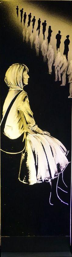 13. Waiting IV Glass Engraving by Alison Kinnaird Engraving Tools, Glass Engraving, Waiting, Art, Art Background, Kunst, Performing Arts, Art Education Resources, Artworks