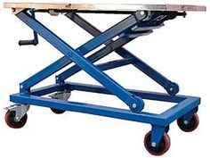 "Vestil Mechanical Scissor Carts, models CART-660-M & CART-660-M-PSS make transporting, raising, and lowering material fast and easy. A hand cranked mechanical screw drive provides precise positioning and allows no downward drift. Scissor carts feature a 23½""W x 37""L platform and a 660 LB capacity. Model CART-660-M-PSS features a platform, frame, handle, caster rigs and hardware made of stainless steel (crank assembly and scissor legs are zinc plated). CART-660-M and CART-660-M-P..."