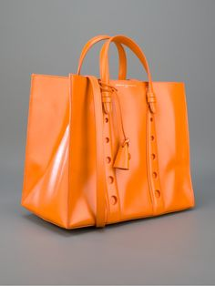 Myriam Schaefer Glazed Calf Leather Tote. In my dreams.