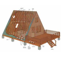 Whether you're looking to build a rustic retreat or the off-grid home you've long dreamed about, the A-frame cabin offers a simple, incredibly sturdy and comparatively low-cost option.