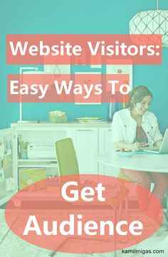 Building an audience is not as difficult as you think.  If you want to have more Website Visitors, you can check these free and easy tips! http://www.kamilmigas.com/website-visitors-build-audience/
