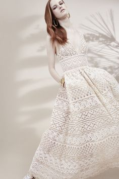 This would be an incredible wedding dress!!! Elie Saab Resort 2016 - Collection - Gallery - Style.com