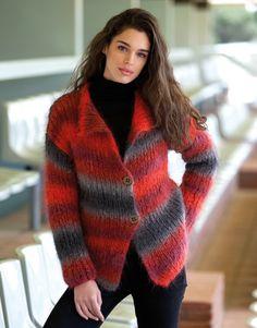 Book Woman Sport 90 Autumn / Winter   37: Woman Jacket   Red-Grey-Black